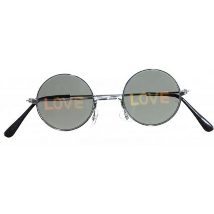 brýle hippies LOVE
