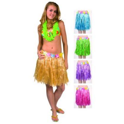 sukně havajská žlutá 58fd6985b3