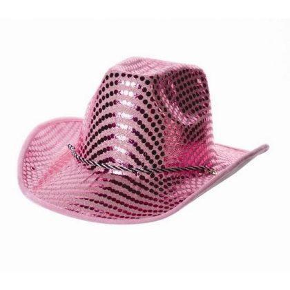Kovbojský klobouk růžový Party 808f569dc0