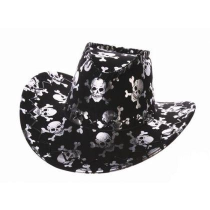 Kovbojský klobouk s lebkami 7a0073c747