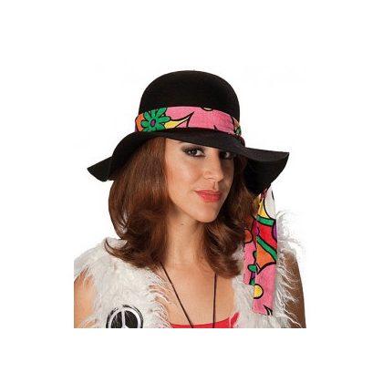 325594ce805 dámský klobouk se stuhou hippie