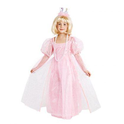 dětské šaty růžová princezna s tylem 122-128 cm 6ef2b0b5dfc