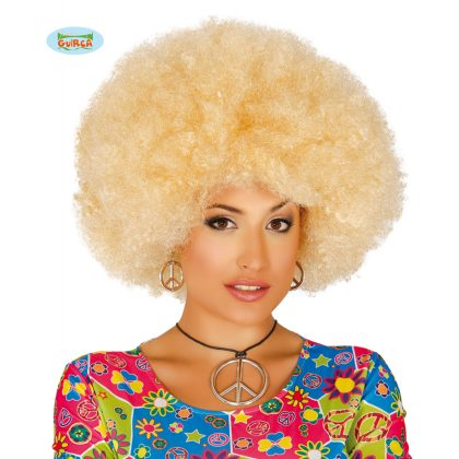 extra blond afro
