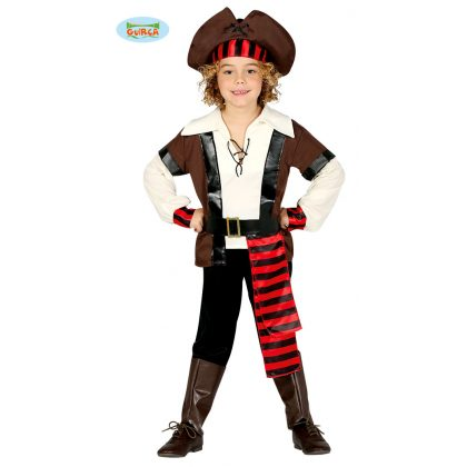 e8277952444b kompletní dětský kostým pirát sedmi moří 7 - 9 let