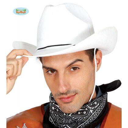 8c684cf35b1 bílý klobouk s černým páskem