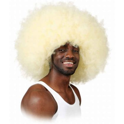 super afro blond