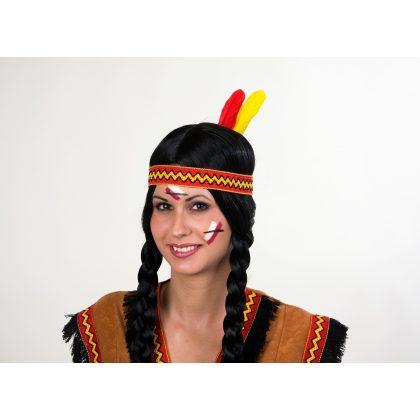 16d58f3f5a6 Indiánské čelenky a western doplňky