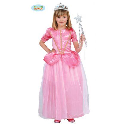 dětský kostým princezna růžová 5 - 6 let fead99bf603