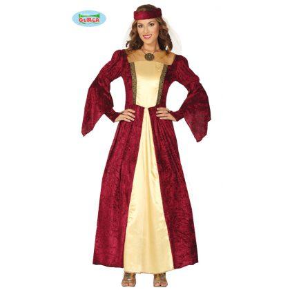 17272e63b9f9 kostým středověká lady 38-40