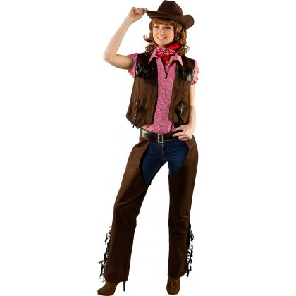 Cowgirl imitace chopsy
