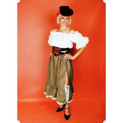 b37a5016cec dámské šaty WESTERN LADY western kostým
