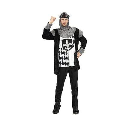 fa80f241a4fb kostým černobílý král