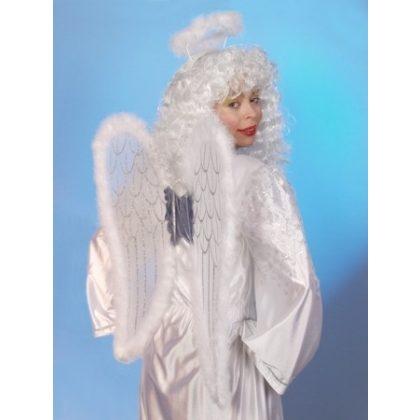 andělské křídla-bílo stříbrný set f3a3e93f33