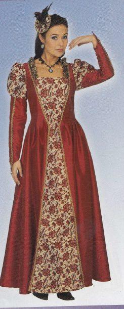 c1dbc27bc0c5 historické šaty Tudorovci
