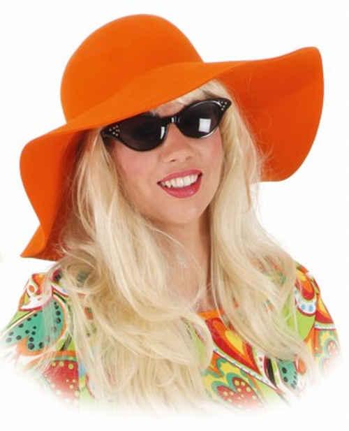 9146e1e07cc oranžový klobouk de luxe