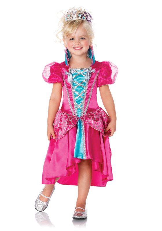 3ca6f5a485e6 dětský kostým růžovo tyrkysová princezna de luxe II