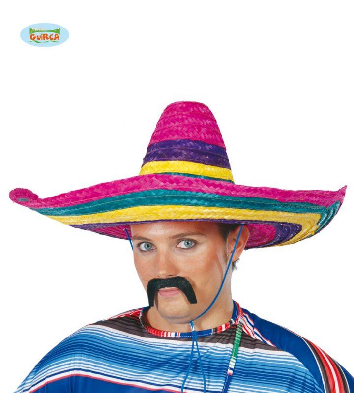 mexický barevný klobouk 16faf1bb91