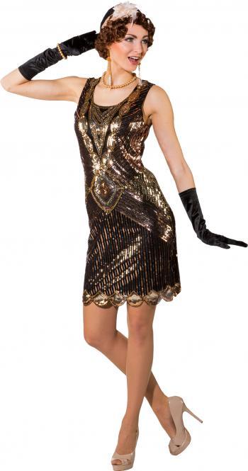 šaty dvacátá léta de luxe černozlaté e46dc3bcc5