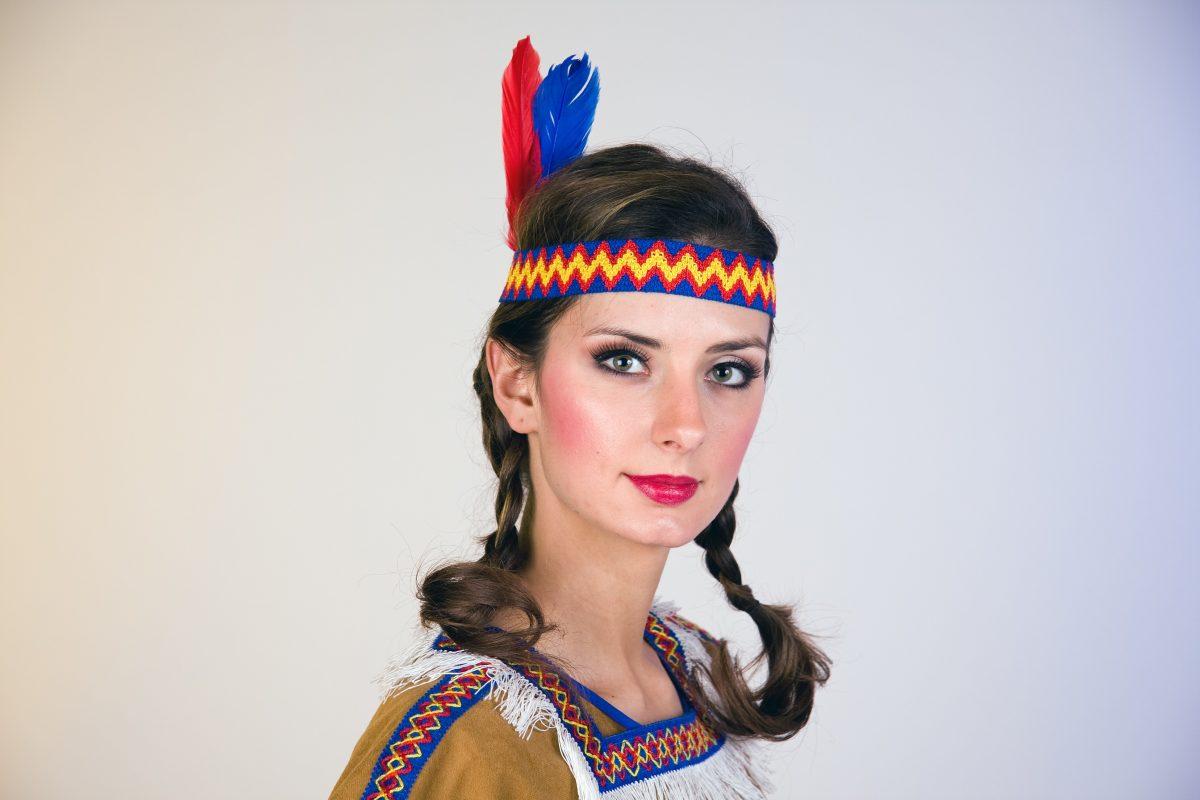 indiánská čelenka ženská 1d5e09e427