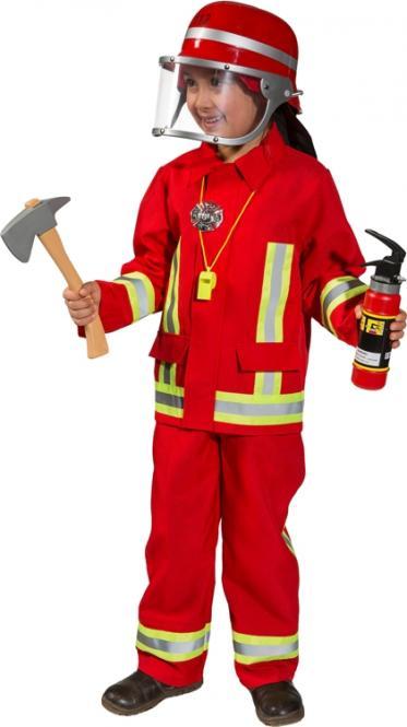 dětský kostým hasiče 3c3289b8d97