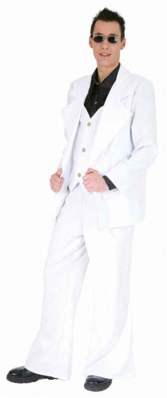 kostým párty oblek bílý c09f682536