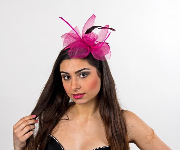 ozdoba do vlasů na sponě růžová f7d1c786ab