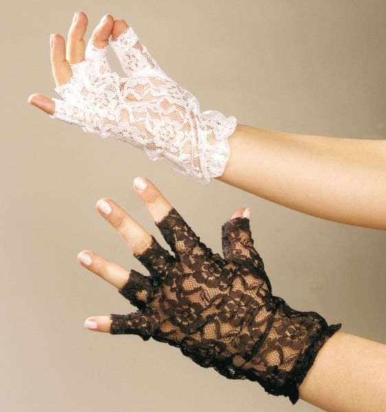 8a441dabaa3 krajkové rukavice bezprsté bílé