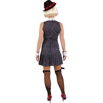 40503073c36 dámské pruhované mafiánské šaty