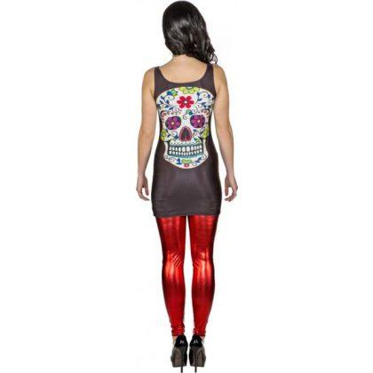540b9a1994a mini šaty mexický svátek den mrtvých