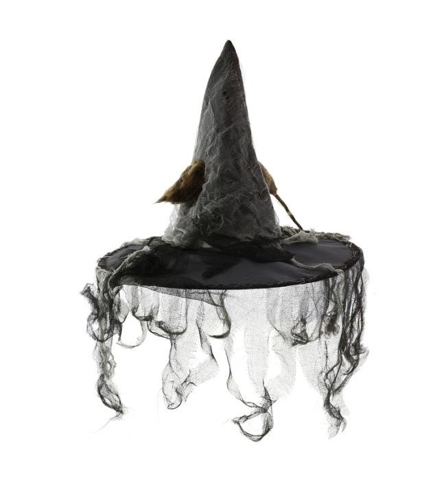 c715501e78d čarodějnický klobouk s myší a pavučinou